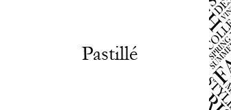 Pastillé